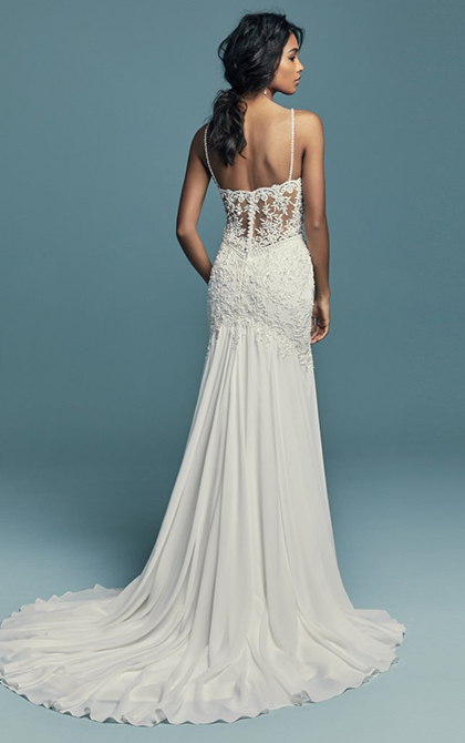 Maggie Sottero bridal wear at Georgina Scott Bridal