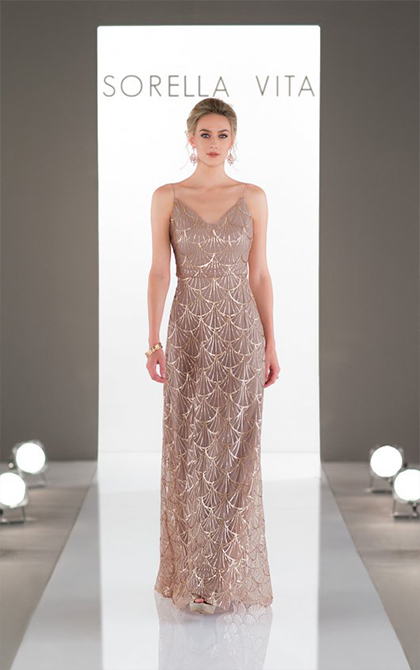 649c12581 Create an ultra-glamorous look for your all-important bridesmaids ...